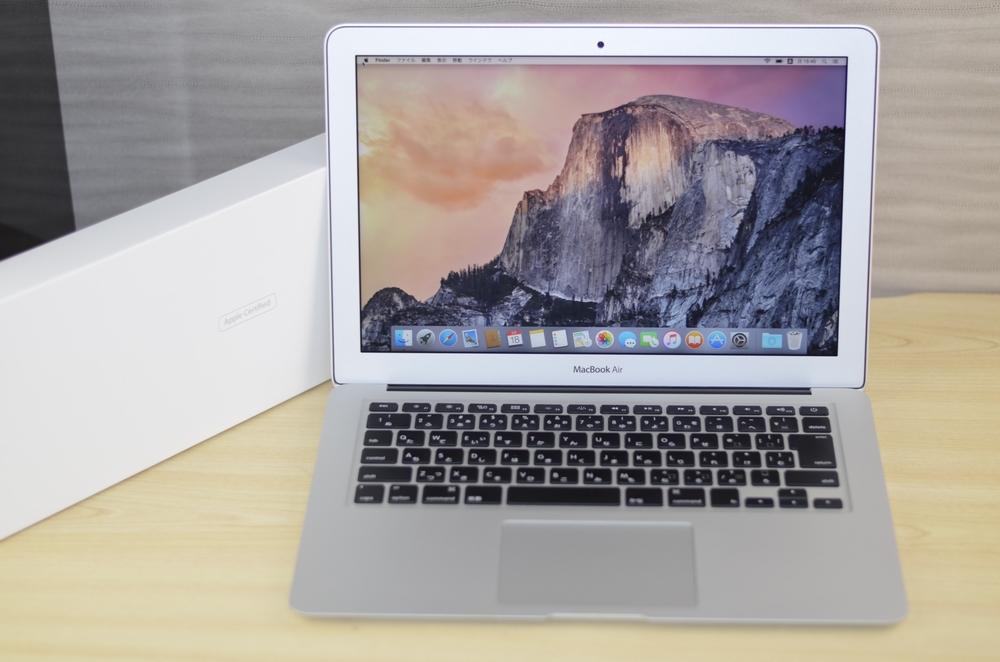 MacBook Air買取ました!13-inch Early 2014 CTO Core i5 8GB 128GB SSD,実際の買取金額が高いのはオンラインMac買取ストア!