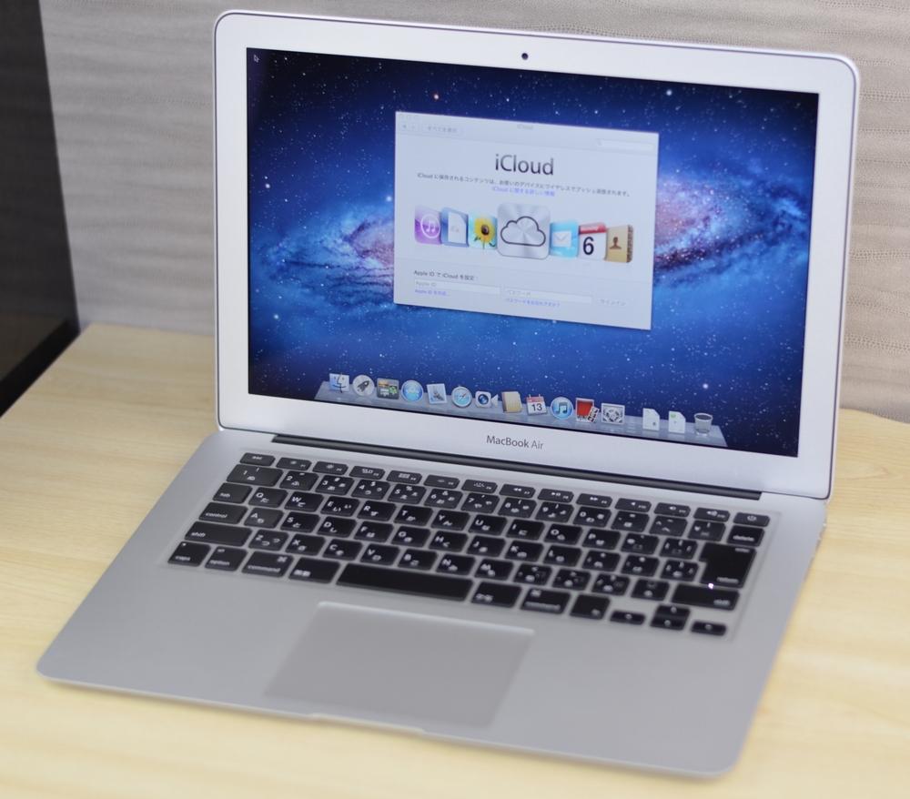 MacBook Air買取ました!13-inch Mid 2011 MC965J/A Core i5