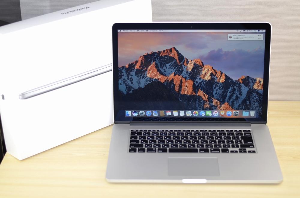 MacBook Pro買取ました!15インチ Retina Mid 2012 Core i7 CTO,Macの買取は、オンラインMac買取ストアにお任せください!