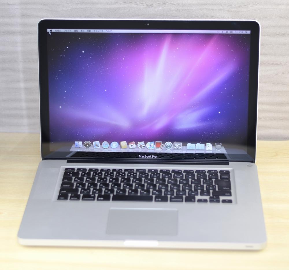 MacBook Pro買取ました!15-inch 2.53 GHz Mid 2009 メモリ8GB,専門店だからできる!故障・壊れたMac買取ます!他店圧倒高額買取保証