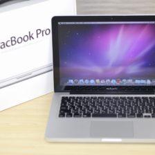 MacBook Pro買取ました!MacBook Pro 13-inch Mid 2010 CTO 500GB,みんなやってる!わざわざお店に行く必要なし! 自宅から楽々!かんたん全国送料無料宅配買取