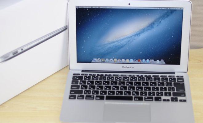 MacBook Air買取ました!11-inch, Mid 2012 Core i5 4GB MD223J/A,最強のMac買取専門店、オンラインMac買取ストア
