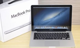 MacBook Pro買取ました!13-inch Mid 2012 MD102J/A Core i7 2.9GHz 8GB