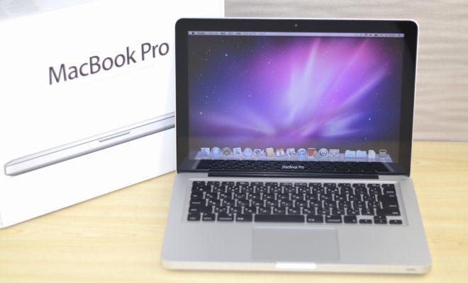 MacBook Pro買取ました!13-inch,Early 2011 Core i7 MC724J/A,専門店だからできる!故障・壊れたMac買取ます!オンラインMac買取ストア