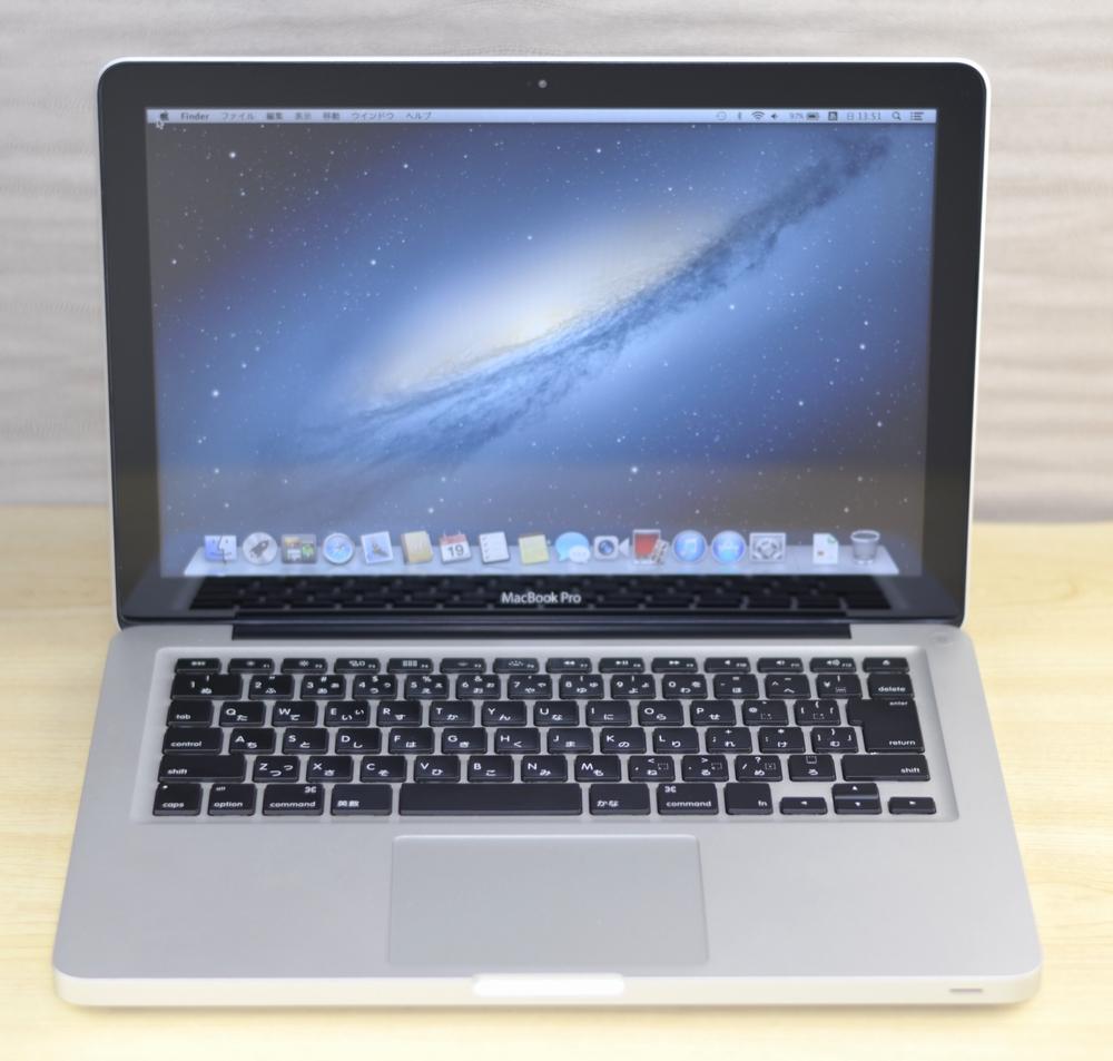 MacBook Pro買取ました!13-inch,Mid 2012 MD101J/A Core i5、全国より壊れたMac・中古Macの高額買取を行っております。