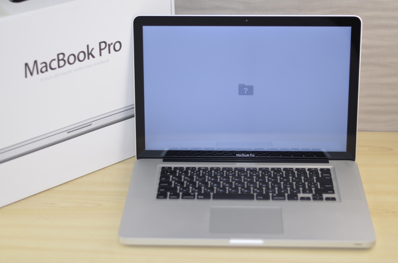 壊れたMacBook Pro買取ました!15-inch,Early 2011 Core i7 MC721J/A・故障・壊れたMac買取ます!
