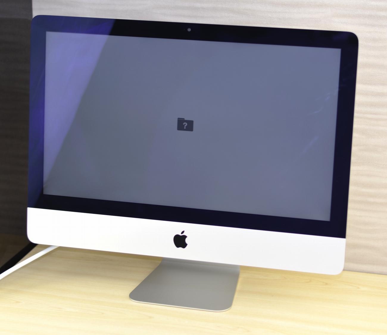 壊れたiMac買取ました!21.5-inch,Late 2012 MD093J/A Core i5・専門店だからできる!故障・壊れたMac買取ます!