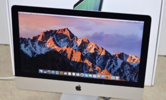 iMac買取ました!21.5-inch,Mid 2014 MF883J/A Core i5、実際の買取金額が高いのはオンラインMac買取ストア!