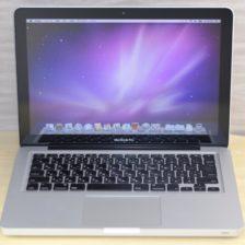 MacBook Pro買取ました!13-inch,Mid 2009 2.26GHz 4GB、Macの買取は、オンラインMac買取ストアにお任せください!