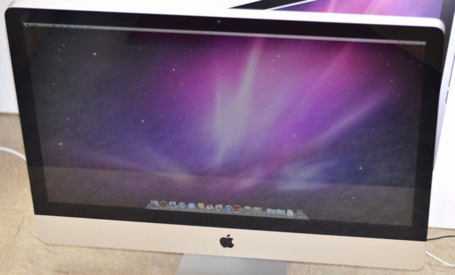 iMac買取ました!27-inch,Mid 2010 MC510J/A 3.2GHz Core i3,Macの買取は、オンラインMac買取ストアにお任せください!