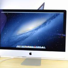 iMac買取ました!iMac 27-inch Late 2012 Core i7 メモリ32GB Fusion Drive 1TB MD580J/A